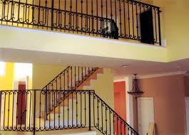 interior wrought iron railing