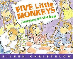 5 little monkeys book