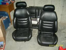 mustang leather seats