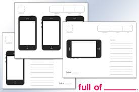 iphone application template