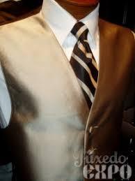 gold tuxedo vests