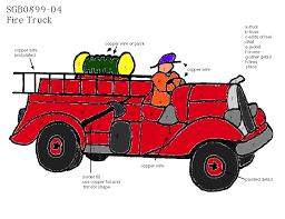 fire truck pattern