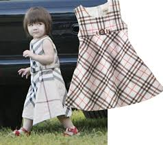 baby burberry dress