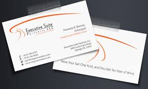 business card executive