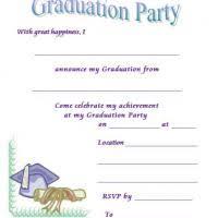 free printable graduation invites