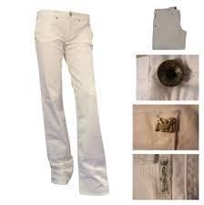 armani white jeans