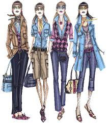 designer fashion sketches