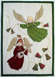angels embroidery