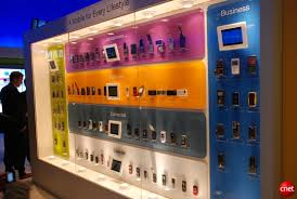 cell phones display