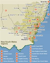 detailed map of new south wales