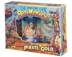sea monkeys pirate gold