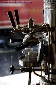 old coffee machine