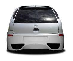 corsa c rear bumper