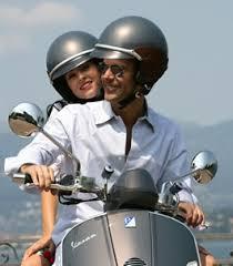 helmet moped