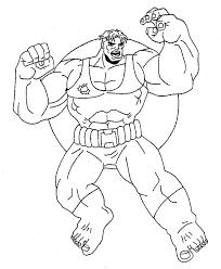 dibujos de hulk