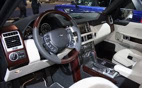 2010 range rover sport interior