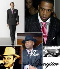 gangster style suit