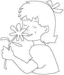 girl coloring book