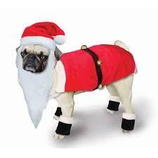 dog santa costumes