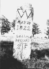 boundary markers