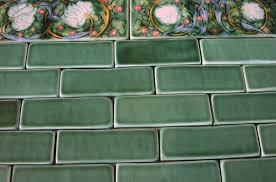 subway tile floor