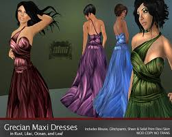 grecian outfits