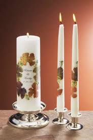fall unity candles