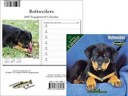 rottweiler calendars
