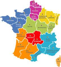mapa de la france
