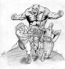 myth drawings