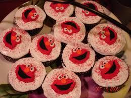elmo cupcake cakes