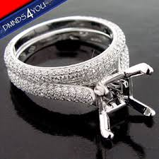 micro pave setting engagement rings