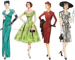 forties style clothing