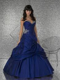 blue dresses for prom