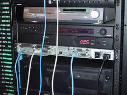 cisco router rack