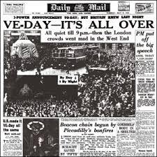 1945 newspaper