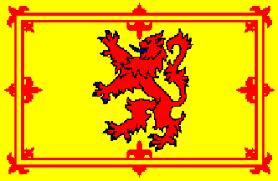 the lion rampant flag