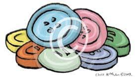 buttons cartoon