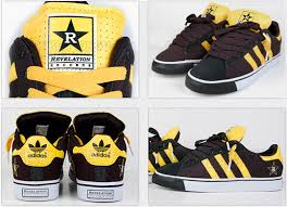 adidas black yellow