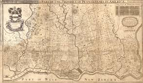 pennsylvania colony map