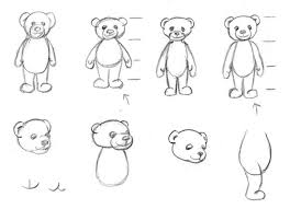 sketches of bears
