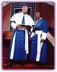 ecclesiastical robes