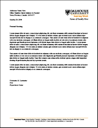 example of letterheads