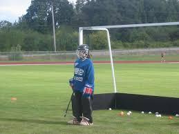 field hockey goalie