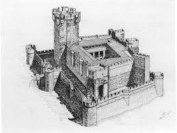 drawing of castles