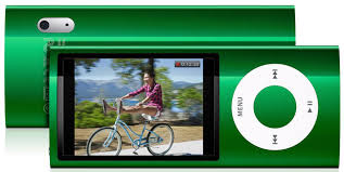 ipod nano 16 gb green