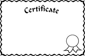 free certificate frames