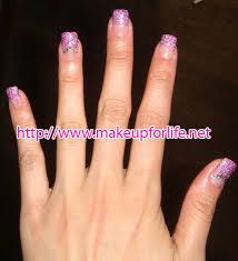 gel set nails