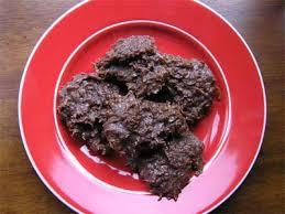 chocolate coconut macaroon