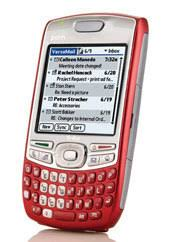 palm treo 680 red